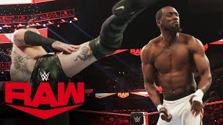 Aleister Black vs. Kenneth Johnson: Raw, Jan. 27, 2020