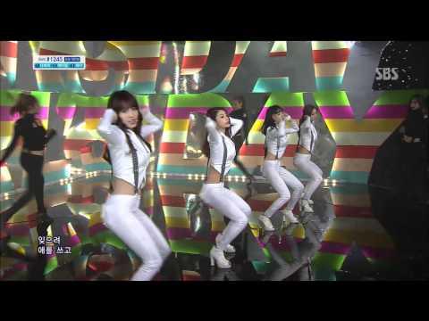 걸스데이 (Girls Day) [기대해] @SBS Inkigayo 인기가요 20130421