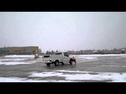 Snow Storm McGhee Tyson Airport Knoxville, Tennessee Jan 10,