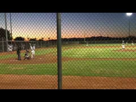 Hayden Sandman LHP 5 Innings Pitched NoHits 13K's 1BB Mountain Ridge High School 2017 Grad Mountain Lions Baseball vs GBG Marucci/OC September 17, 2016 Perfect Game Evoshield National Championship...