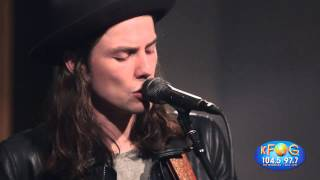 James Bay 'Hold Back The River' Live on KFOG Radio