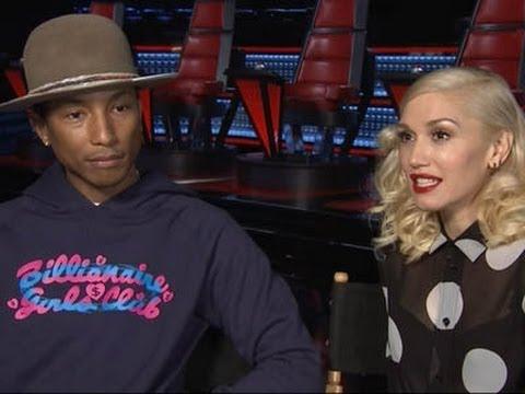 Pharrell, Stefani Talk 'Voice' Competition