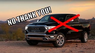 2019 Ram 1500. Here's Why I'm NOT Buying One!