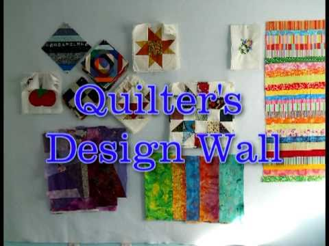 quilting design wall
