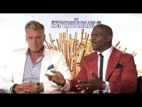 THE EXPENDABLES 3 cast plays