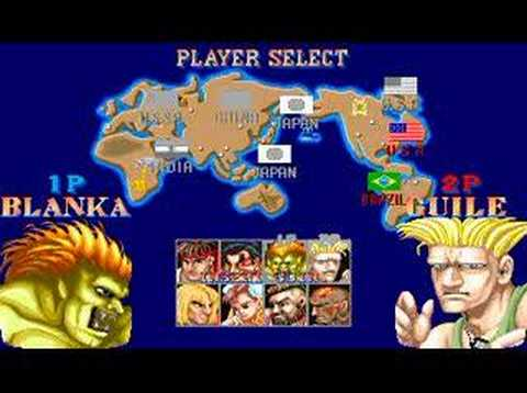 Street Fighter 2 - Retro Arcade Intro