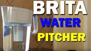 Brita Water Pitcher Filter Test