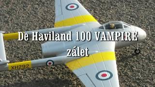 De Haviland DH 100 VAMPIRE,zálet letadla...
