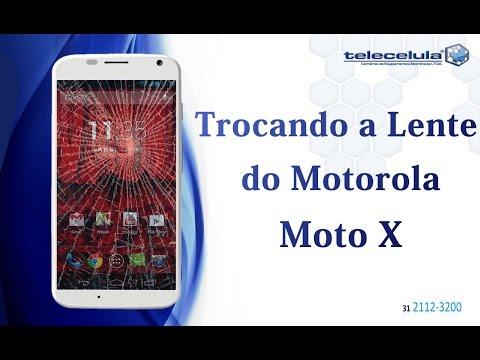 Como Trocar a Lente Vidro do Motorola Moto X TELECELULA