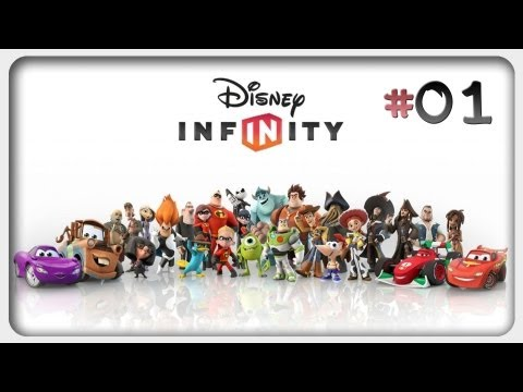 Let's Play: Disney Infinity Deutsch #01 German Walkthrough Online Gameplay