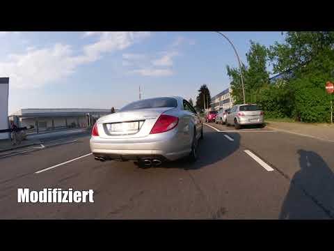 Mercedes CL63 AMG Brutal Exhaust Sound | Motor Trading