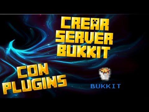 Como Crear un Server Bukkit  con Plugins- Minecraft 1.5.2 - 2013