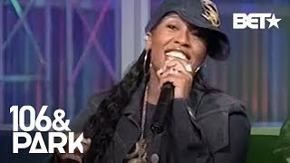 "#TBT Monica Hosts 106 & Park As Missy Elliot & Timbaland Talk About ""Pass That Dutch"" 
