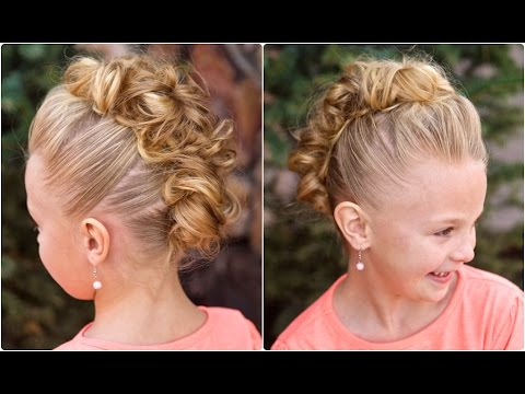 Messy Bun Hawk | Dance Hairstyles
