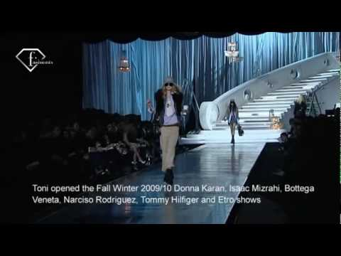 Toni Garrn No. 10 First Face Fall 2009 | FashionTV - FTV