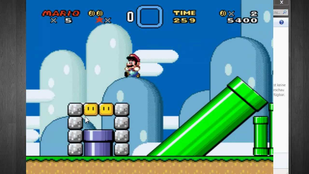 super mario world online spielen