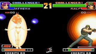 Ralf Galactica Phantom 1 hit 100% daño vs Todos los personajes KOF 98