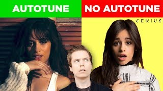 Autotune vs No Autotune (Camila Cabello, Nick Jonas & MORE)