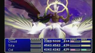 Final Fantasy 7 North Cave, Jenova and Sephiroth Battles, and Ending