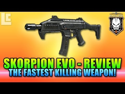 Skorpion EVO - The Ultimate SMG (Black Ops 2 Gameplay/Commentary)