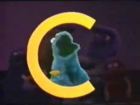 Sesame Street dub- the letter C