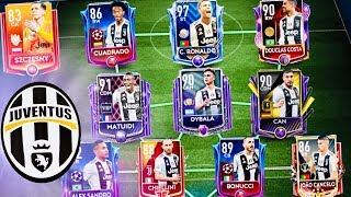 BEST JUVENTUS TEAM IN FIFA MOBILE 19 with 100 OVR Masters,Toty Ronaldo,Dybala,Gameplay and packs