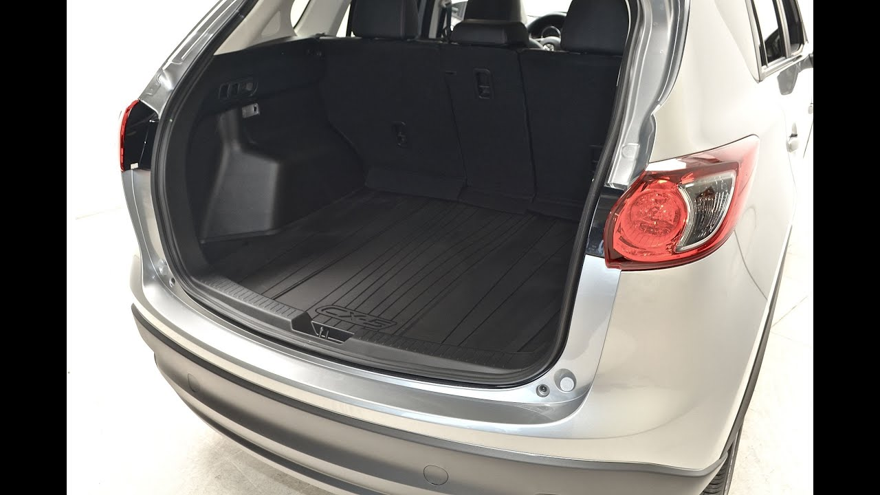 2013 2014 2015 Mazda Cx 5 Cargo Tray Mazdagear Com Youtube