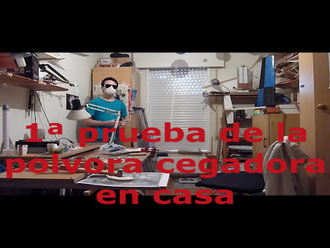 Hacer Bombas Cegadoras, Tutorial - Home made Flashbang