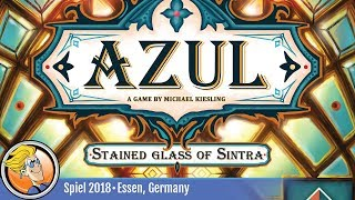Azul: Stained Glass of Sintra ? game overview at SPIEL '18