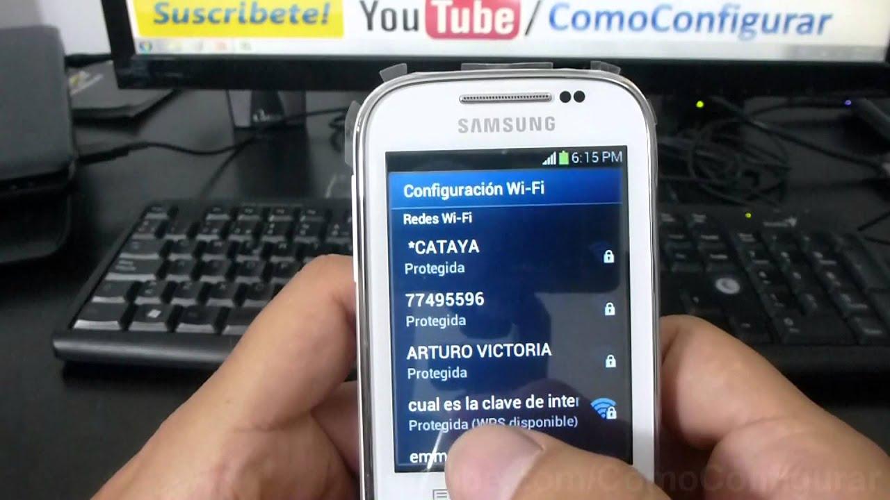 Wifi Samsung Galaxy Chat