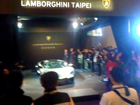 The world's first Lamborghini reventon roadster in Taiwan (藍寶堅尼 一億)