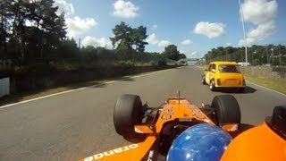 Zolder Circuit - Formula 1 Car vs. Mini Cooper, Radical & Co.