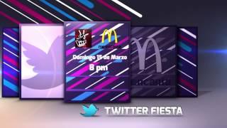 #MeEncantaLaVoz Twitter Fiesta este domingo a las 8PM