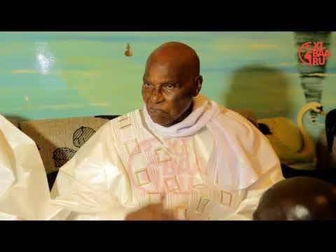 Abdoulaye Wade à Touba: