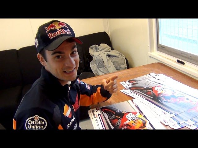 MotoGP™ interview Dani Pedrosa