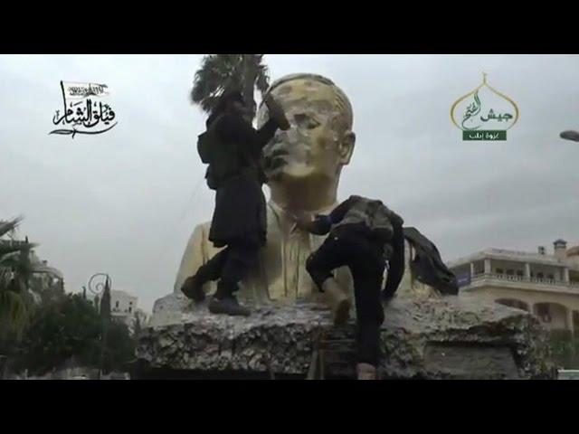 صفآرایی نیروهای دولت سوریه برای بازپسگیری ادلب از جبهه نصرت