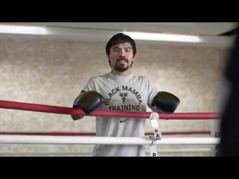 Manny Pacquiao trolls Floyd Mayweather Jr in Foot Locker ad- Fight Hub TV News brief