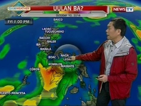 BP: Weather update as of 4:14 p.m. (October 9, 2014)