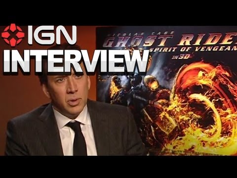 Ghost Rider 2 - Nicolas Cage Interview