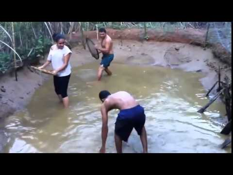 Funny Video-Aboriginal Fishing Very Good-Fishing-Good-2015-Laugh-Fun-Best Funny Videos 2015