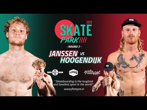 Game of SKATEpark 2020 - Game #11 - Teun Janssen vs Woody Hoogendijk