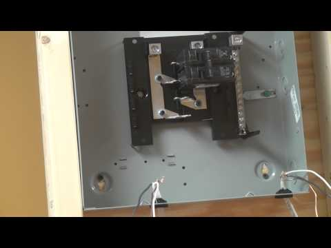 how to install a circuit breaker