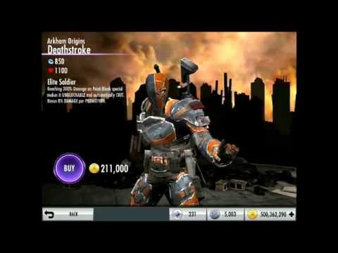 AO Deathstroke Upcoming Challenge Character Review   Injustice iOS