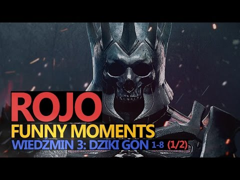 Funny Moments #76: WIEDŹMIN 3: DZIKI GON   1/2   Rojo & Urhara