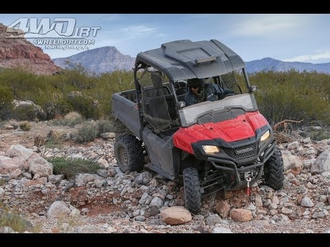 2014 Honda Pioneer 700 Second Ride - 4WheelDirt