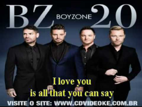 Boyzone   Baby Can I Hold You