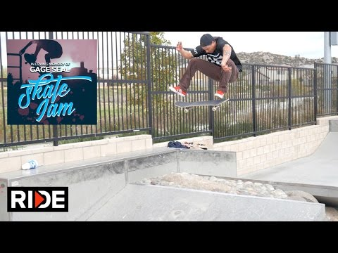 David Gravette, Taylor Bingaman & More - Gage Seal Memorial Skate Jam