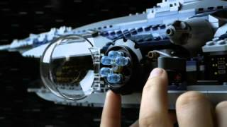 The Malevolence vs. Saesee Tiin's Jedi Starfighter - LEGO STAR WARS