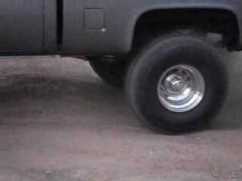 83 Chevy K10 Burnout Music Videos