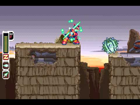 Megaman Zero 2 - Megaman Zero 2 (GBA) - Vizzed.com Play - User video